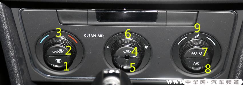 大众朗逸空调怎么开,大众朗逸空调开关说明