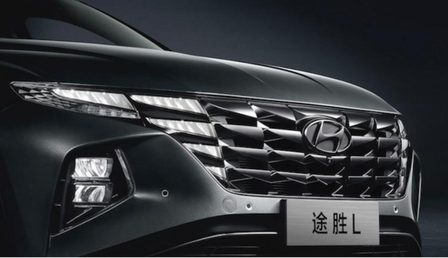 北京现代第五代途胜L近期上市10.25英寸液晶屏
