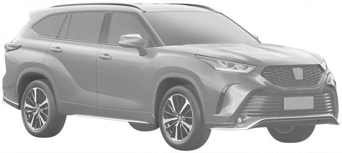 丰田皇冠-陆放9月投产上市 全系搭2.5L混动
