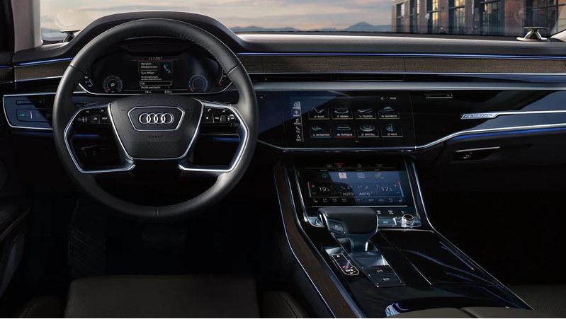 奥迪A8L旗舰车售194.28万元 搭载4.0T V8引擎