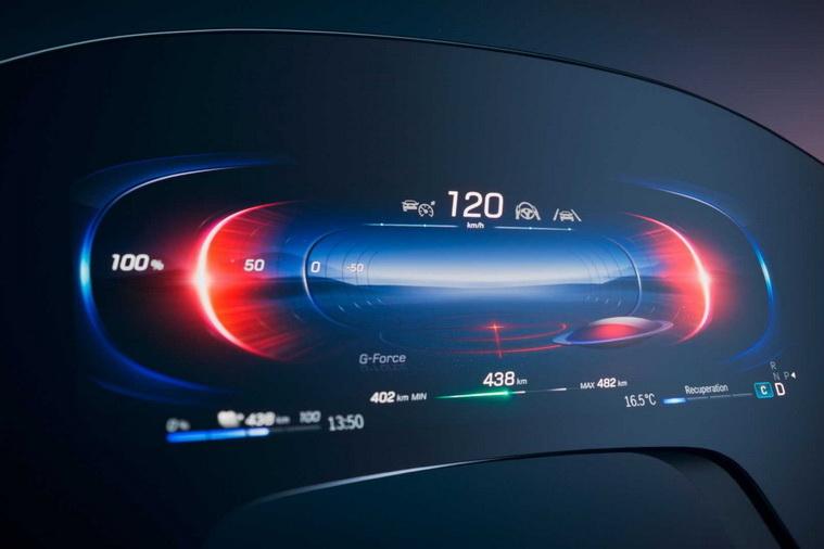 奔驰EQS最新预告图曝光 有望于4月首发