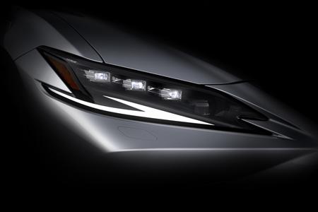 雷克萨斯新ES将于上海车展全球首发