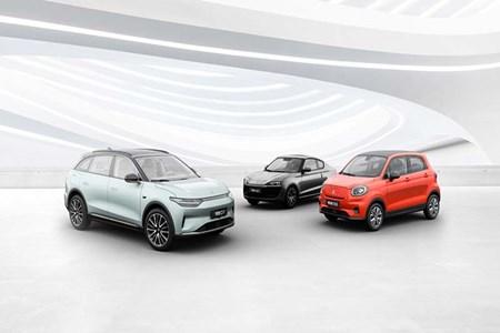 零跑将携C11性能版及多款新车亮相上海车展