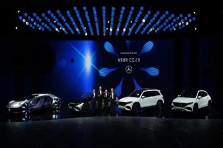 奔驰EQ之夜多款新车亮相 奔驰EQB全球首发