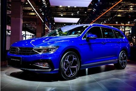 大众多款车型亮相 蔚揽旅行轿车预售26.8万起