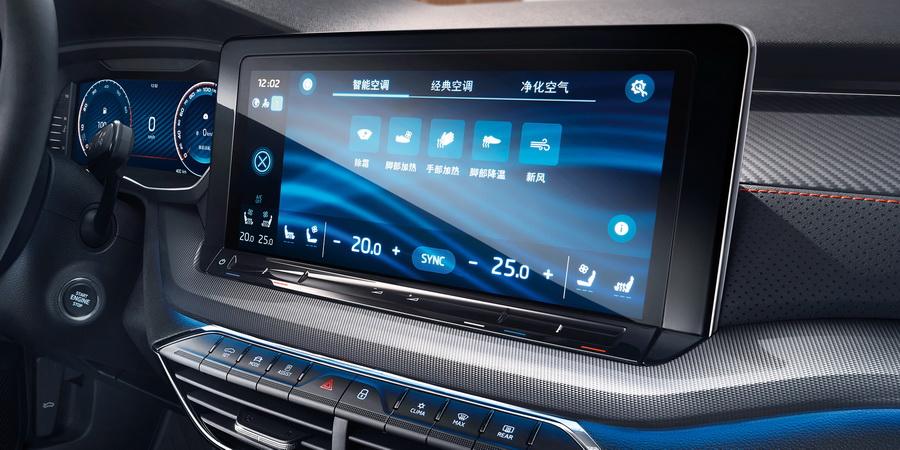 斯柯达明锐PRO上市 12.49万起/全系1.4T