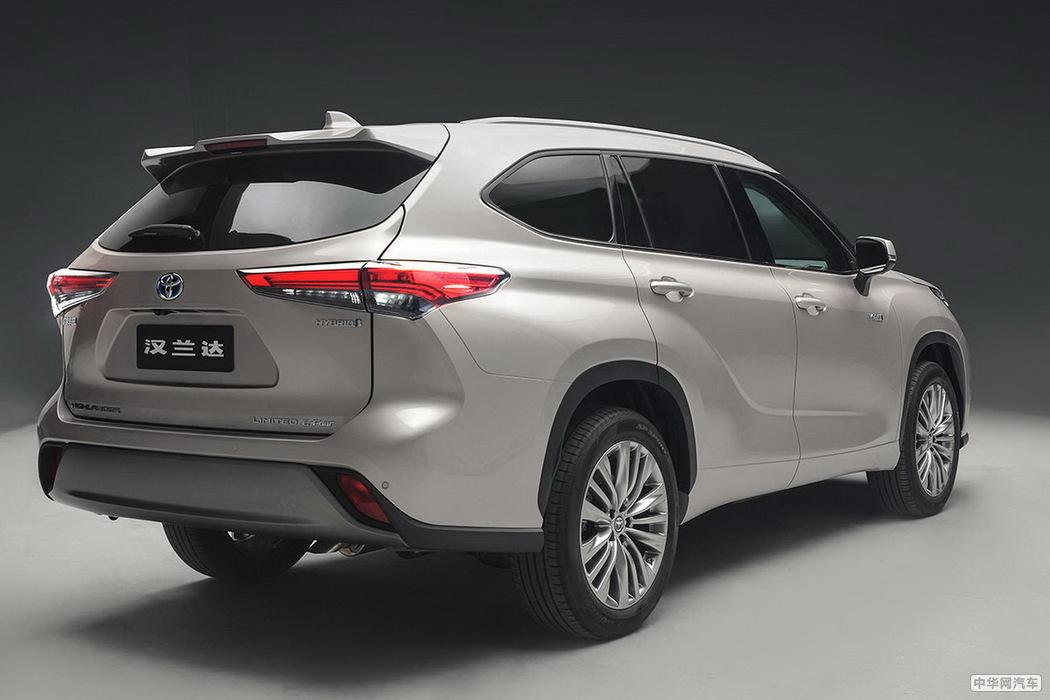 第四代广汽丰田汉兰达上市 售价26.88万起