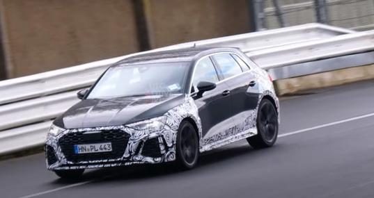 全新奥迪RS 3  Sportback谍照 或将有漂移模式