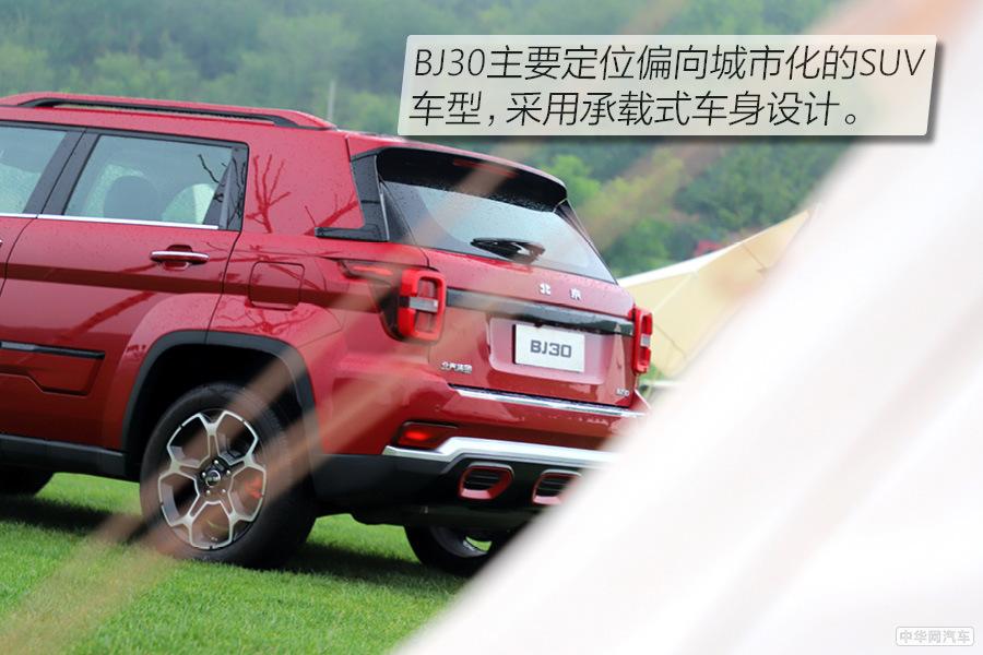 """城市与郊野自在游走 试北京越野BJ30""""小战狼"""""""