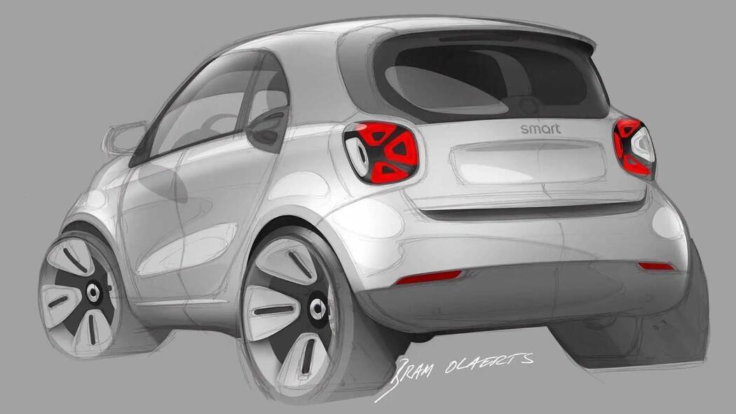 国产新一代smart电动车 9月首发/明年上市