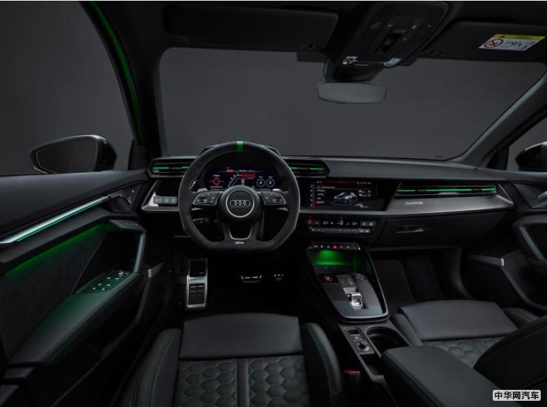 3.8秒破百 全新奥迪RS 3官图