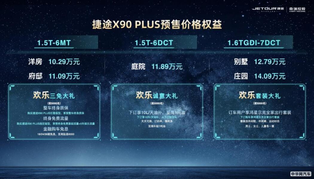 捷途X90 PLUS或9月上市 7座布局/预售10.29万