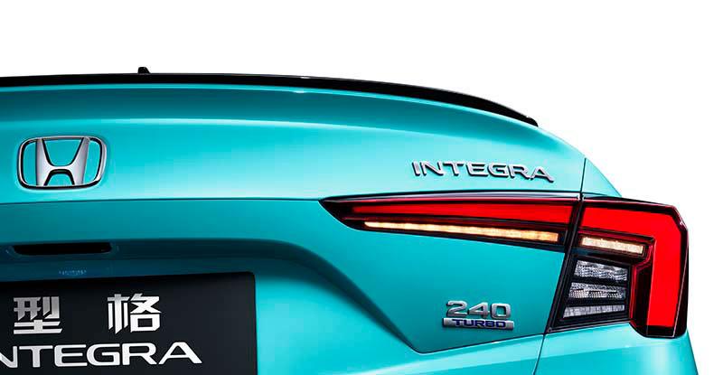 广汽本田全新战略中级车发布  INTEGRA型格亮相