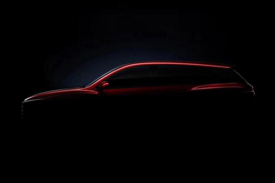 王朝系列又添一员猛将 比亚迪发布全新SUV预告图