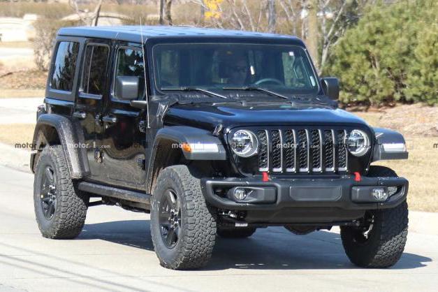 硬派越野车也能电动化 Jeep牧马人PHEV谍照曝光