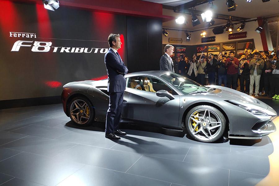 百公里加速仅需2.9秒 法拉利F8 Tributo正式上市