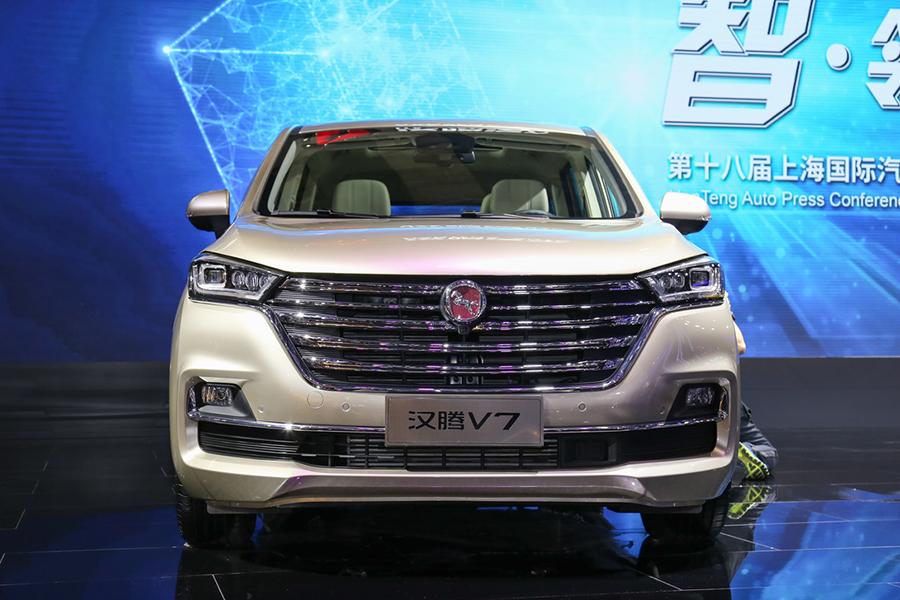 预售价9.58万起 汉腾首款MPV汉腾V7有望五月上市