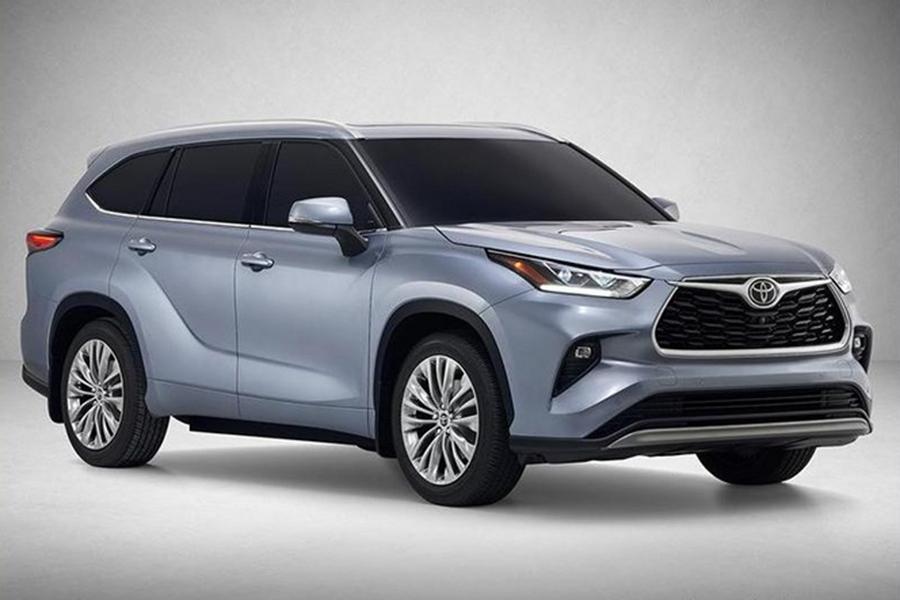 尺寸继续增加 全新丰田汉兰达混动版有望明年上市