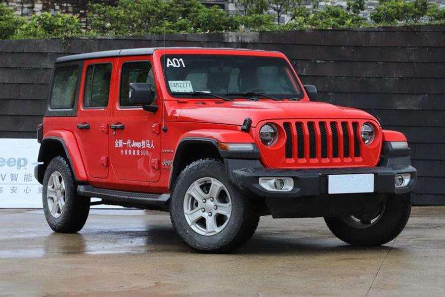 增V6引擎/有望年内亮相 Jeep新款牧马人曝光