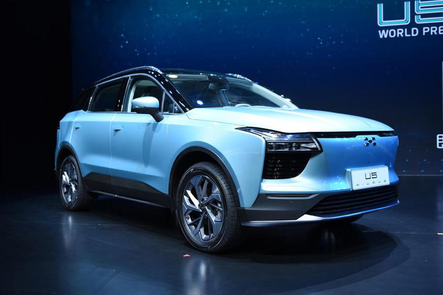 或于成都车展预售 纯电动SUV爱驰U5新消息