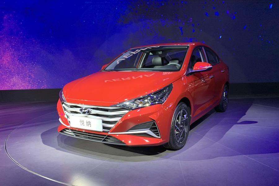 造型更动感 北京现代新款悦纳或于10月底上市