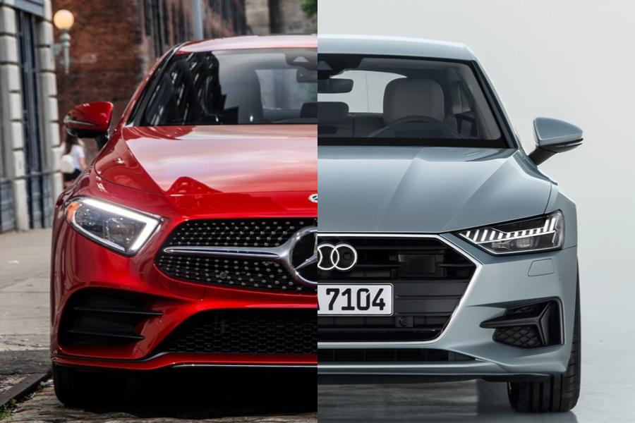 没有最美只有更美 全新一代奔驰CLS对比奥迪A7