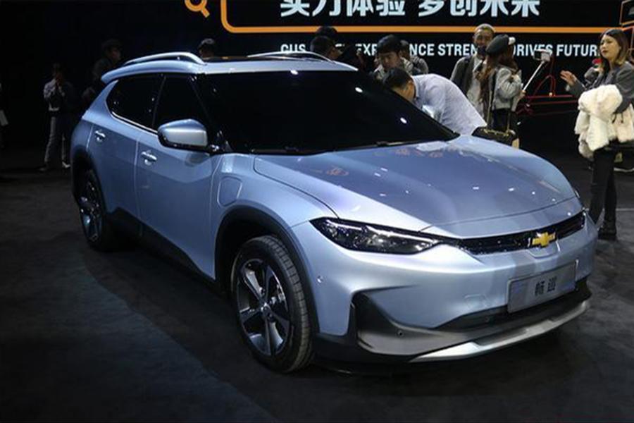 雪佛兰首款纯电动轿跑畅巡 即将亮相广州车展