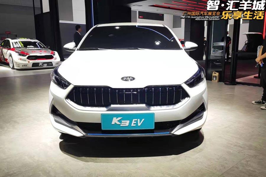 2019广州车展 起亚全新一代K3 EV首发亮相