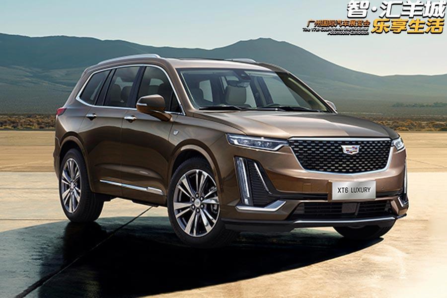2019广州车展 凯迪拉克XT6中型SUV亮相