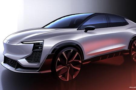 采用溜背型设计 爱驰U6 ion将亮相日内瓦车展
