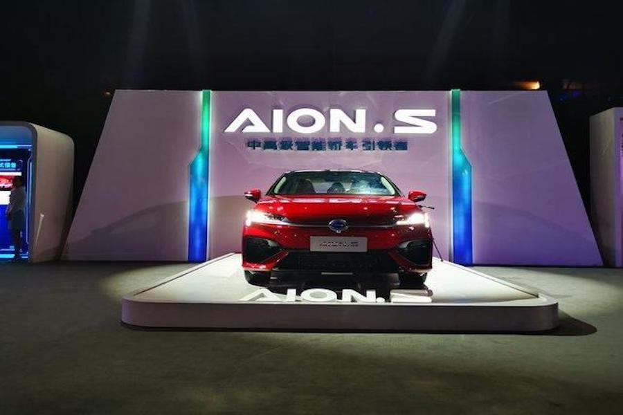 补贴后售价18.28万 广汽新能源Aion S新车上市