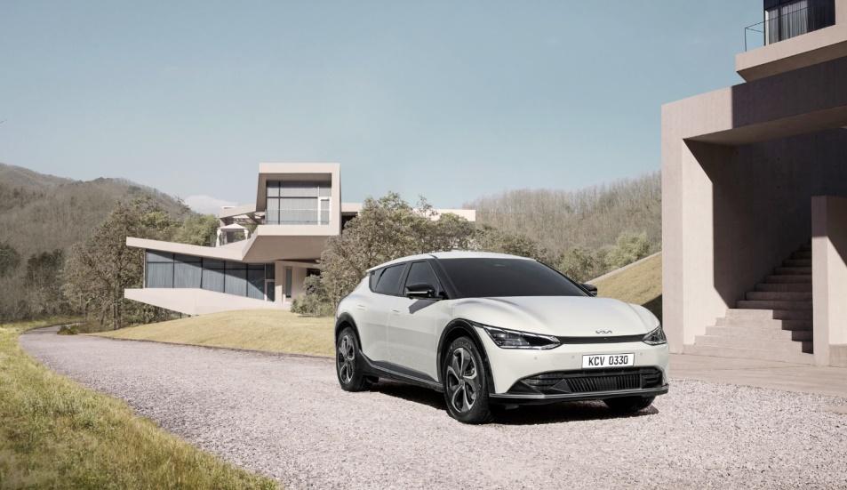 起亚发布全新设计理念与EV6完整预告图
