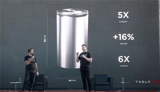 特斯拉46800电池 终结燃油车时代?