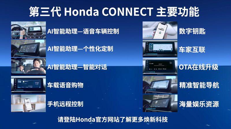 智能是关键词 第三代Honda CONNECT正式发布