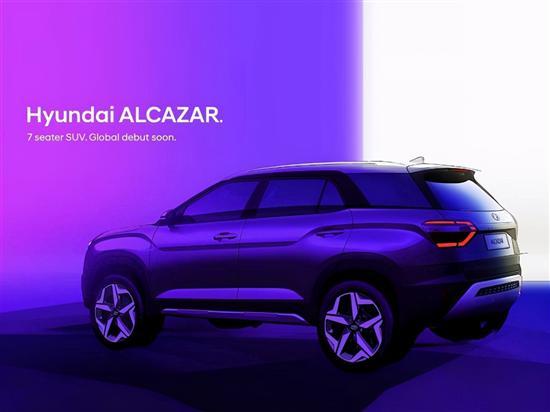 """现代将在印度推加长""""ix25""""""""Alcazar""""7座小型SUV"""
