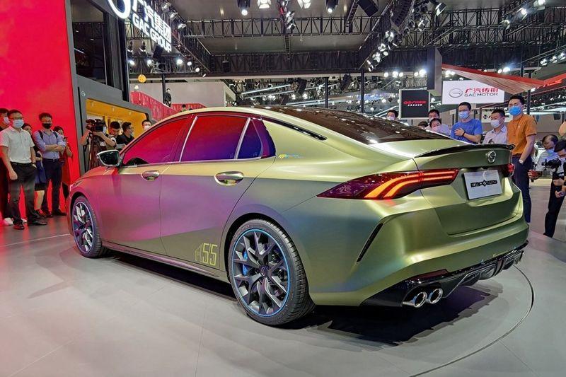 广汽传祺全新车型EMPOW55 正式命名为:影豹