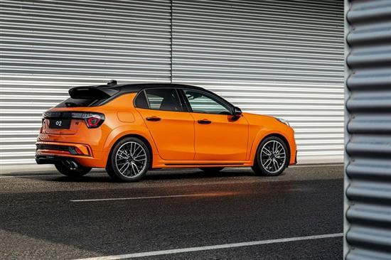 领克02 Hatchback车展亮相 将于6月上市